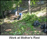 work at Mothers rest