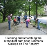 smoothing paths in the Fenway