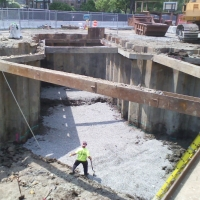 Brookline Ave Culvert Excavation
