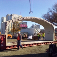first arch on truck