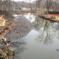 River Shore Erosion Protection