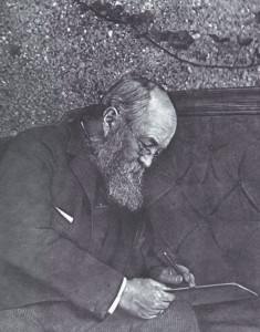 Frederick Law Olmsted, circa 1890.