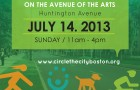 Traffic Advisory: ENC – Circle the City Event on Huntington Ave. Sun. 7/14/13, 11:00 AM – 4:00 PM