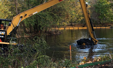 Dredging in Back Bay Fens and Riverway Park:  November 90-Day Look-Ahead