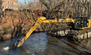 Dredging to Start at Netherlands Road and Parkway Drive:  February 90-Day Look-Ahead